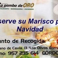 Foto tomada en La Gamba de Oro marisco tienda online por Marisco La Gamba de ORO el 11/23/2013