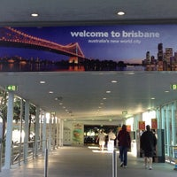 Photo taken at Brisbane Airport International Terminal by Dave E. on 10/11/2012