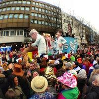 Photo taken at Friesenplatz by Mike F. on 2/11/2013