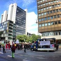 Photo taken at Friesenplatz by Mike F. on 5/11/2013