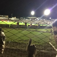 Photo taken at Estádio Vermelhão da Serra by Ramiro P. on 2/19/2015