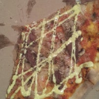 Photo taken at Sven's Viking Pizza by Apple B. on 9/22/2013
