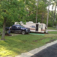 Photo taken at Lincoln State Park Campground by Jeffrey C. on 5/10/2013