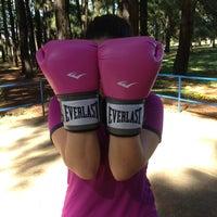 Photo taken at Treino De Boxe - Prof. Renato by Renata P. on 5/12/2013