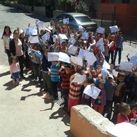 Photo taken at hamidiye ilkokulu by 'Ayşe Y. on 6/13/2014