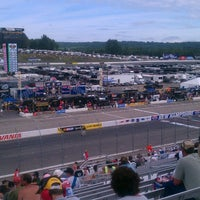 Photo taken at New Hampshire Motor Speedway by Ryan M. on 7/13/2013