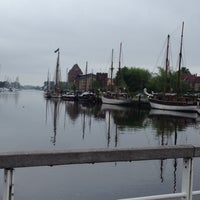 Photo taken at Museumshafen Greifswald by Anne S. on 5/19/2013