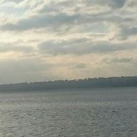 Photo taken at Rıhtım Beach by Reyhan Sultan💝💝💝💝 S. on 10/15/2015