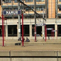Photo taken at Gare de Namur by Clara H. on 10/2/2013
