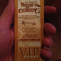 Photo taken at Rick Bronson's House of Comedy by Dan C. on 2/25/2013