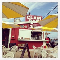 Photo taken at The Clam Bar by David G. on 7/23/2013