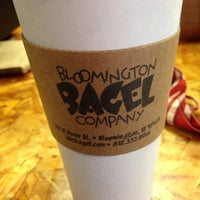 Photo taken at Bloomington Bagel Company by Mike M. on 8/3/2014
