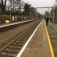 Photo taken at Rectory Road Railway Station (REC) by Rachel F. on 12/16/2016