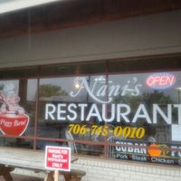 Photo taken at Nani's Restaurant by Nani's R. on 5/30/2013