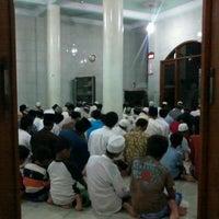 Photo taken at Masjid Nurul Hikmah by Muhamad Aji C. on 7/13/2013