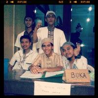 Photo taken at Masjid Nurul Hikmah by Muhamad Aji C. on 8/7/2013