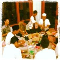 Photo taken at Masjid Nurul Hikmah by Muhamad Aji C. on 7/14/2013