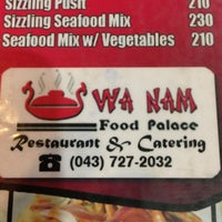 Photo taken at Wa Nam Food Palace by Eimee Monica S. on 5/12/2013