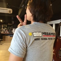Photo taken at MEGA MUSIC WORLD by Yvonne C. on 5/16/2015