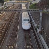 Photo taken at 富士見橋 by rikimaru on 7/2/2013