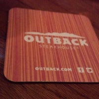 Photo taken at Outback Steakhouse by Rob M. on 6/26/2013
