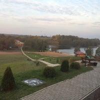 Photo taken at Лесная Гавань by Валерия Е. on 10/8/2014