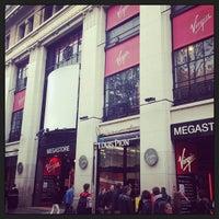 Photo taken at Virgin Megastore by Victor M. on 5/18/2013