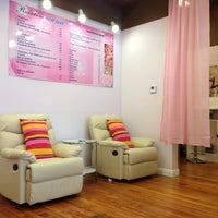 Photo taken at Rainbow Nail Spa by Ben T. on 4/13/2013