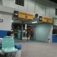 Photo taken at Terminal Rodoviário Engenheiro Huascar Angelim by Renata N. on 4/24/2013