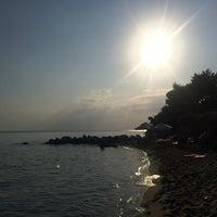 Photo taken at ISLA Beach Bar by Eren O. on 8/8/2016