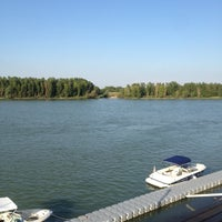 Photo taken at Yachthafen Kuchelau by Thomas on 7/19/2014