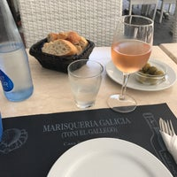 Photo taken at Restaurante Galicia by Werner O. on 6/17/2017