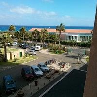 Photo taken at Hotel Vila Baleira Thalassa by Rui B. on 8/9/2013