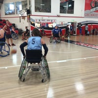 Photo taken at North Sydney Indoor Sports Centre by Matthew W. on 3/14/2015
