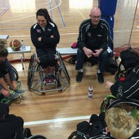 Photo taken at North Sydney Indoor Sports Centre by Matthew W. on 7/11/2015