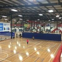 Photo taken at North Sydney Indoor Sports Centre by Matthew W. on 6/13/2015