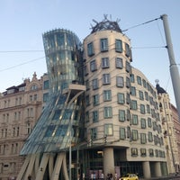 Photo taken at Dancing House by Coletsos J. on 8/16/2013