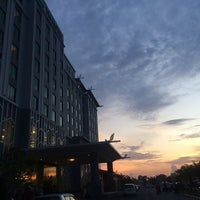 Photo taken at TH Hotel & Convention Centre by amhel h. on 8/30/2014