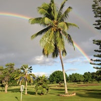 Photo taken at Ted Makalena Golf Course by Brian Y. on 12/4/2015