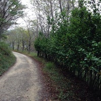 Photo taken at 황령산 산책로 by Myoungil Y. on 10/5/2013