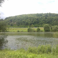 Photo taken at Moselufer by Alex S. on 7/1/2013