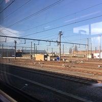 Photo taken at Tw-Oostende werkplaats NMBS by Erik V. on 2/14/2017