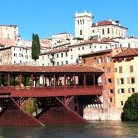 Photo taken at Ponte degli Alpini by Natascia B. on 4/12/2013