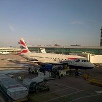 Photo taken at Terminal 3 by Matthew B. on 4/20/2013