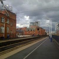Photo taken at Deansgate Railway Station (DGT) by Matthew B. on 5/13/2013
