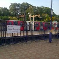 Photo taken at Ealing Broadway Railway Station (EAL) by Matthew B. on 6/7/2013