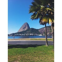 Photo taken at Flamengo Park by Isabella D. on 7/5/2013