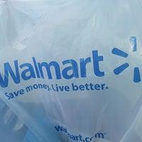 Photo taken at Walmart Supercenter by megan c. on 5/10/2013