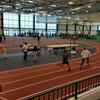 Photo taken at Multi-Sport Facility Horace Ashenfelter Indoor Track by John B. on 2/14/2015