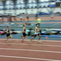 Photo taken at Multi-Sport Facility Horace Ashenfelter Indoor Track by John B. on 2/20/2015